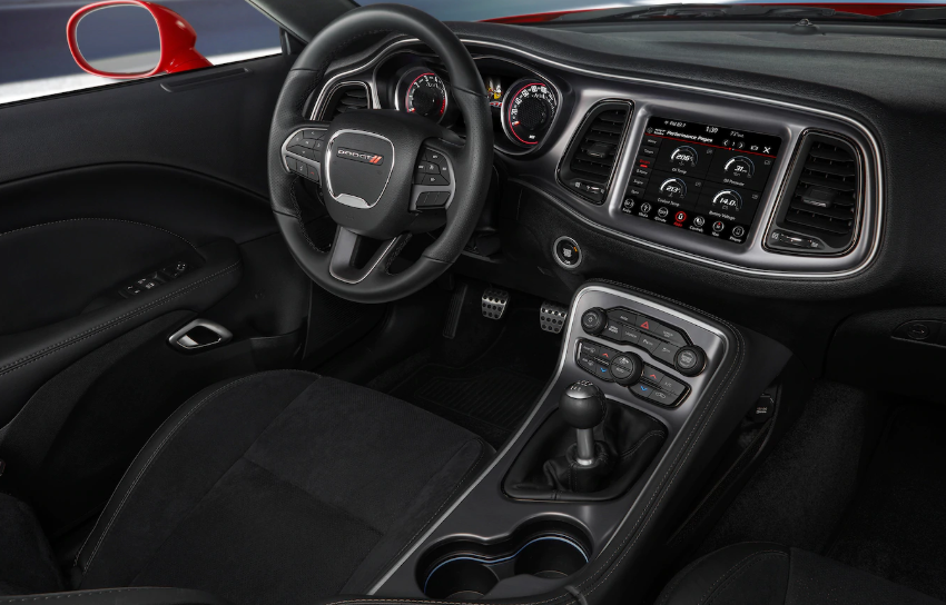 2019 Dodge Challenger Interior Design