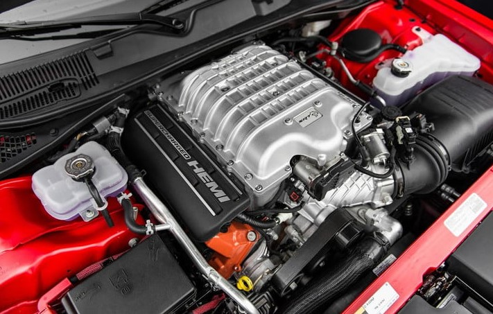 2020 Dodge Challenger SRT Hellcat Engine