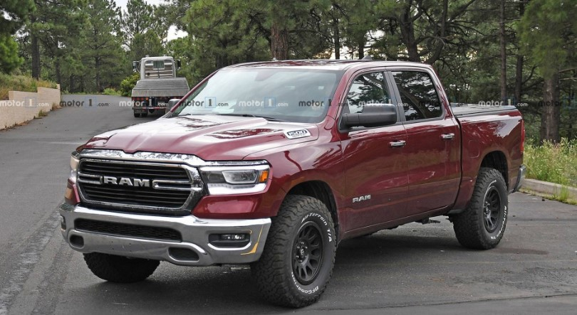 2020 Dodge Dakota TRX Exterior
