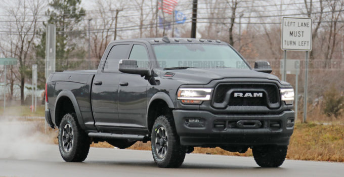 New 2020 Ram Power Wagon 2500 Photos Of Heavy Duty Pickup