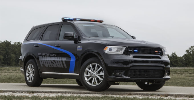 How Dodge Made Its Durango Pursuit Ready Police