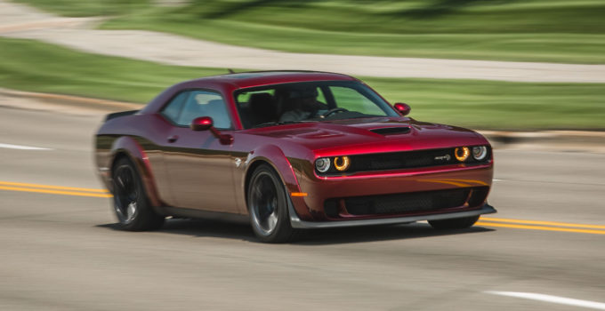 2018 Dodge Challenger SRT Hellcat Widebody Manual Test