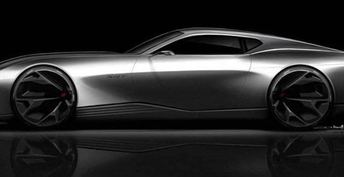 Next Generation Dodge Challenger Concept Is An Electric