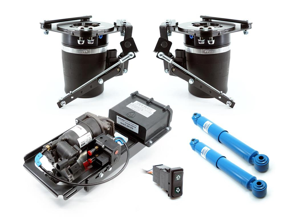 Airbag Man Complete Air Suspension Kit To Suit DODGE RAM