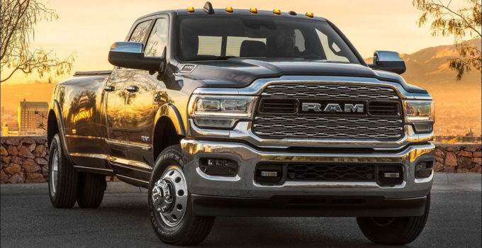2020 Ram 3500 Heavy Duty Limited Crew Cab Dually YouTube
