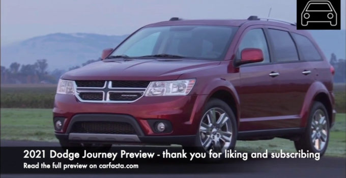 2021 Dodge Journey Crossroad Gas Mileage Electric Feature