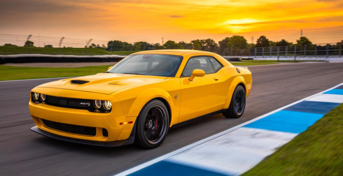 2018 Dodge Challenger Hellcat Widebody First Drive Wider