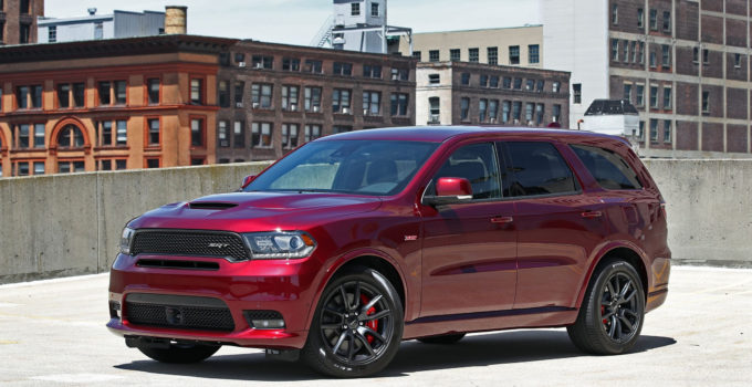 2018 Dodge Durango SRT Exterior Design And Dimensions