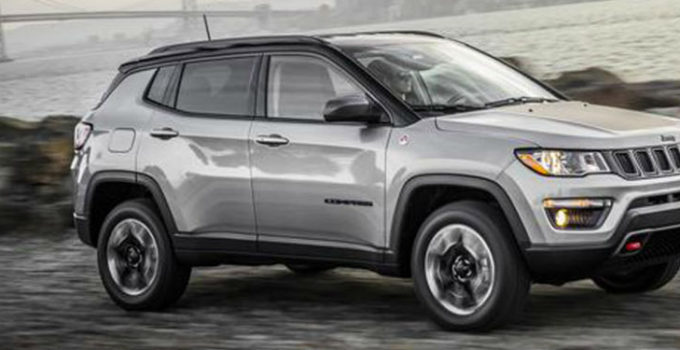 2018 Jeep Compass Exterior Color Options