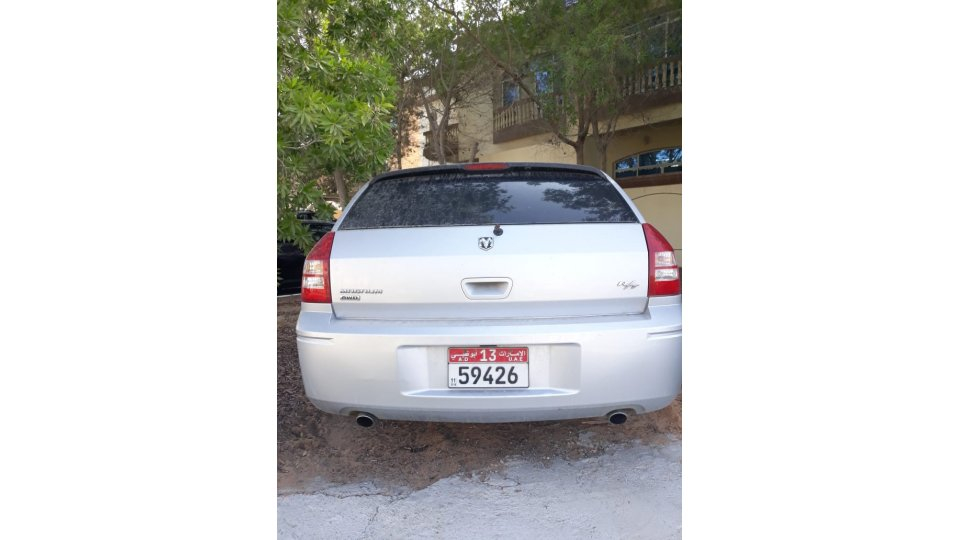 Dodge Magnum R T AWD For Sale AED 7 999 Grey Silver 2006