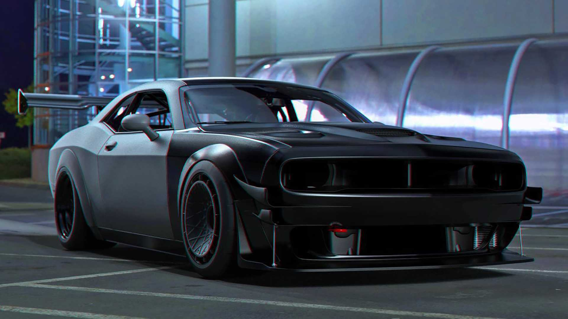 This Dodge Challenger Hellcat Has Been Reimagined As A