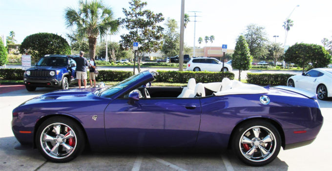 Just Listed 2016 Dodge Challenger Hellcat Convertible