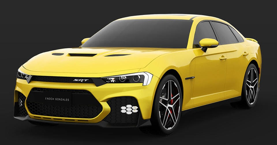 Here s A Take On The Facelifted 2019 Dodge Charger SRT Hellcat