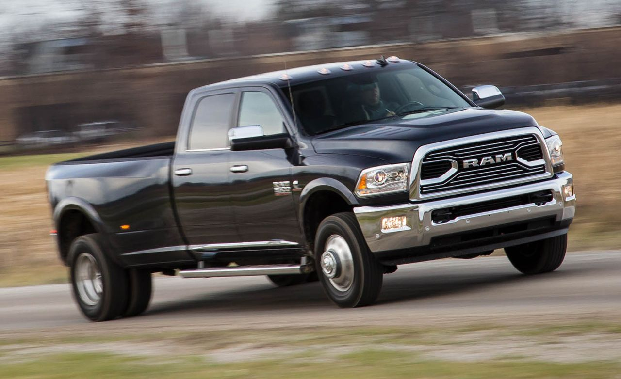 2016 Ram 3500 Diesel Crew Cab 4x4 Test Review Car And
