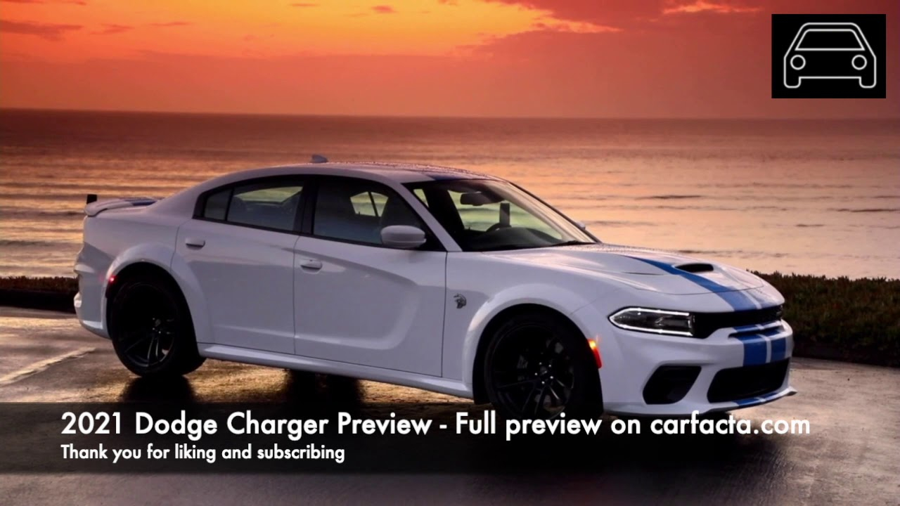 8th Generation Dodge Charger Expected To Debut In 2021