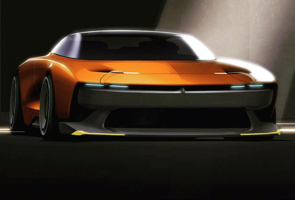 Is This Our First Look At The Next Generation Dodge